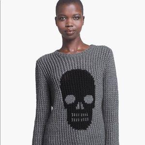 Autumn cashmere skull sweater